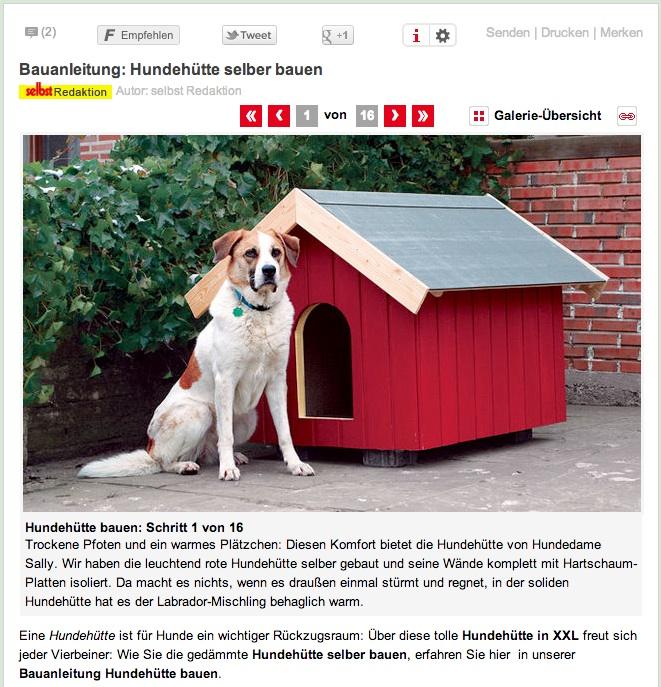 Hundehutte Selber Bauen Hundehutte Bauen